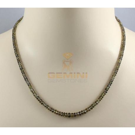 Granat Kette facettierte farbwechselnde Granat Halskette für Damen 65 Karat-Edelsteinketten