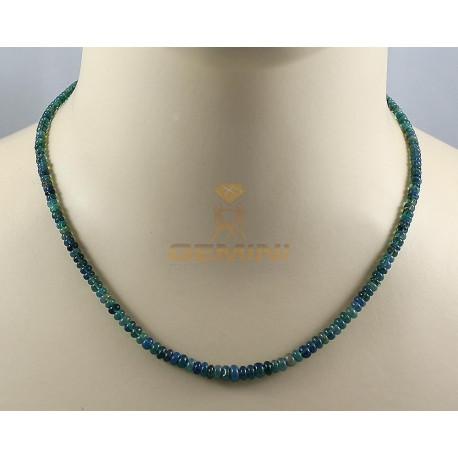 Opal-Kette, Welo Opale, 34 kts-Edelsteinketten