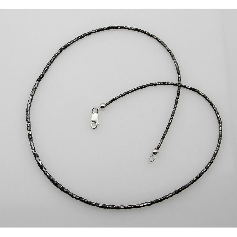 diamant kette schwarzer diamant halskette f r damen 20 karat in ede. Black Bedroom Furniture Sets. Home Design Ideas
