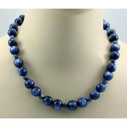 Kyanit Kette blaue Kyanit Kugeln Halskette für Damen