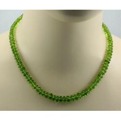 Peridot Kette facettierter Peridot Halskette für Damen 180 Karat