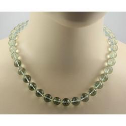 Prasiolith Kette grüne Amethyst Kugeln Halskette für Damen