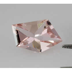 Turmalin Spiegelschliff facettiert rosa Turmalin 6,49 Karat