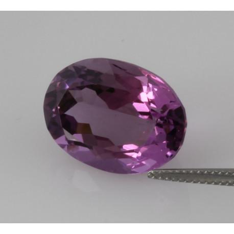 Amethyst violett oval facettierter Amethyst 15,26 Karat-Edelsteine