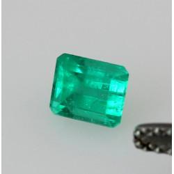 Smaragd im Treppenschliff aus Kolumbien 0,58 Karat