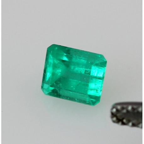 Smaragd im Treppenschliff aus Kolumbien 0,58 Karat-Edelsteine