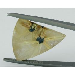 Rutilquarz mit Doppel-Stern aus Brasilien 24,75 Karat-Edelsteine