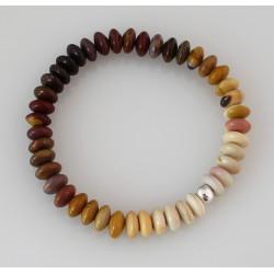 Mookait Armband Buddha Armband aus australischem Jaspis