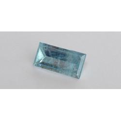Aquamarin baguette Spiegelschliff 6,61 Karat
