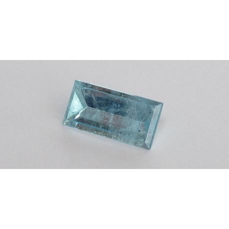 Aquamarin baguette Spiegelschliff 6,61 Karat-Edelsteine