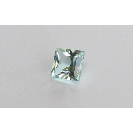 Turmalin mint Quadrat facettiert 1,74 Karat-Edelsteine