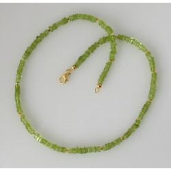 Peridot Kette - Olvin, 45 cm lang-Edelsteinketten