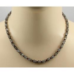 Mondstein Kette - graue Mondstein Halskette für Damen 45,5 cm