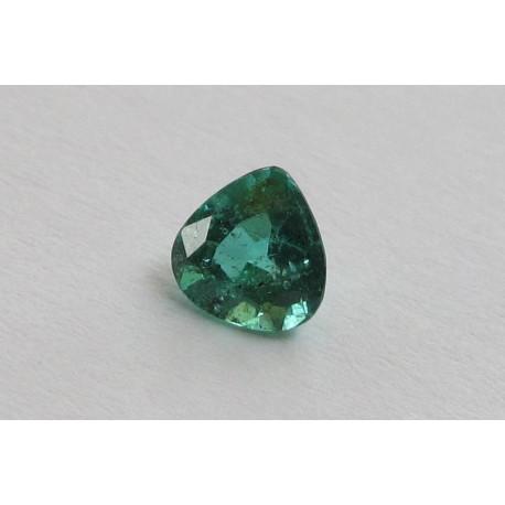 Smaragd Tropfen facettiert 0,39 Karat-Edelsteine