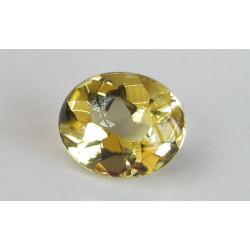 Goldberyll oval Bufftop 6,99 Karat