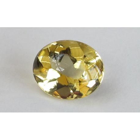 Goldberyll oval Bufftop 6,99 Karat-Edelsteine