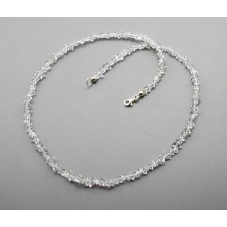 Bergkristallkette - Kristall Doppelender Herkimer Diamant-Edelsteinketten