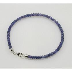 Tansanit Armband - facettierte Tansanite - 19 cm-Edelstein-Armbänder