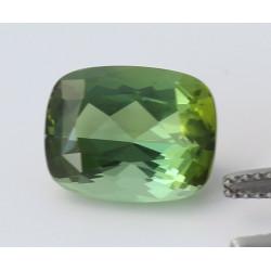 Turmalin grün facettiert Antik-Schliff 6,71 Karat