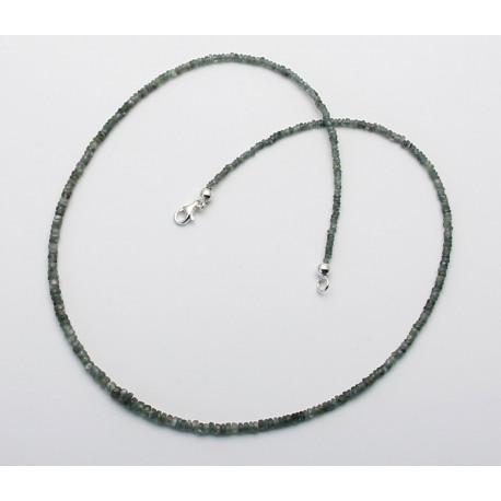 Alexandrit-Kette echter Alexandrit facettiert Halskette 45 cm