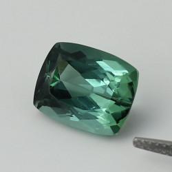 Turmalin grün-blau facettiert Antik-Schliff 5,45 Karat