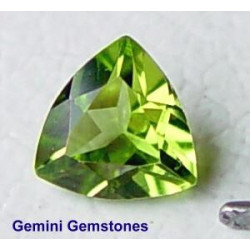 Peridot Trillion 7mm