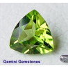 Peridot Trillion 7mm-Edelsteine