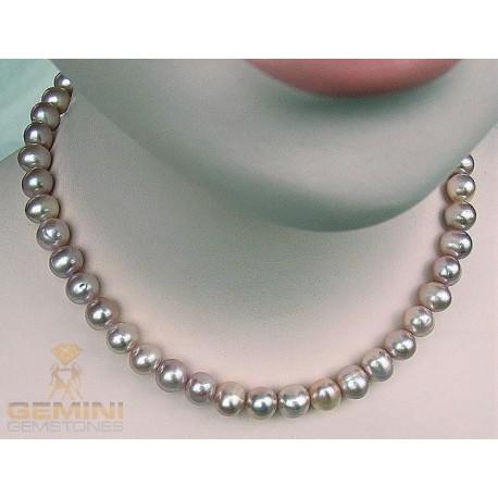 Perlen Kette, rosa-Perlenschmuck