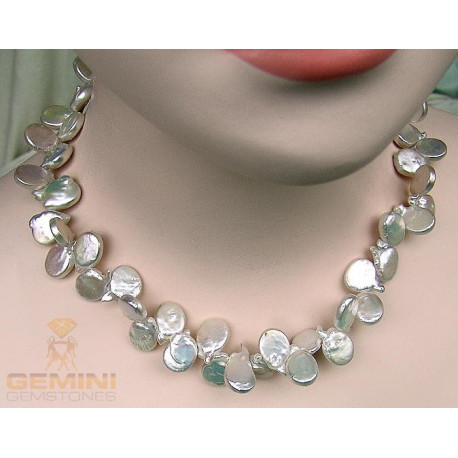 Perlencollier-Perlenschmuck