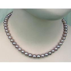 Perlenkette, rosa Perlen