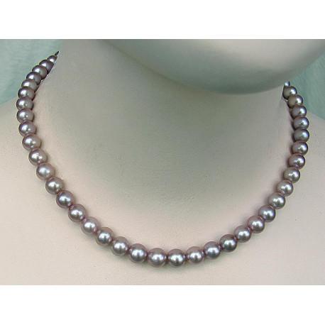Perlenkette, rosa Perlen-Perlenschmuck