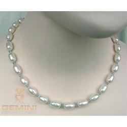 Perlenkette, Perlen mit Apatit
