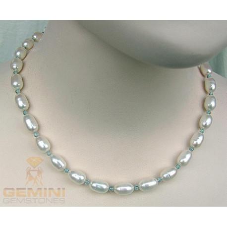 Perlenkette, Perlen mit Apatit-Perlenketten