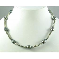 Perlenkette, Tahiti-Perlen & Süßwasserperlen