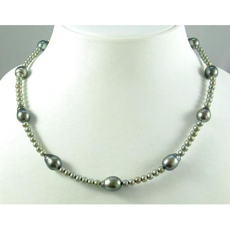 Perlenkette, Tahiti-Perlen & Süßwasserperlen-Perlenketten