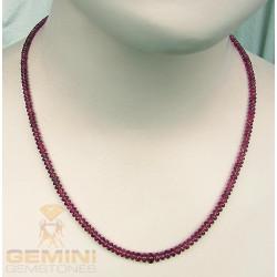 Rubellit Kette - Rosa Turmalin Halskette 65 karat